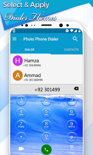Photo Phone Dialer App: Caller Screen Theme screenshot 4