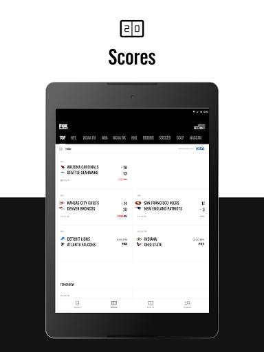 FOX Sports: Latest Stories, Scores & Events 9 تصوير الشاشة