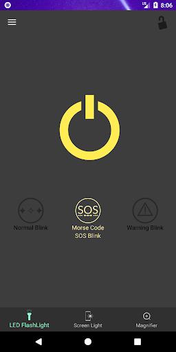 Super Flashlight - SOS Blink screenshot 2