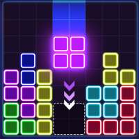 Glow Block Puzzle on 9Apps