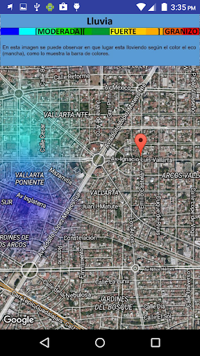 Radar Doppler Jalisco 2 تصوير الشاشة