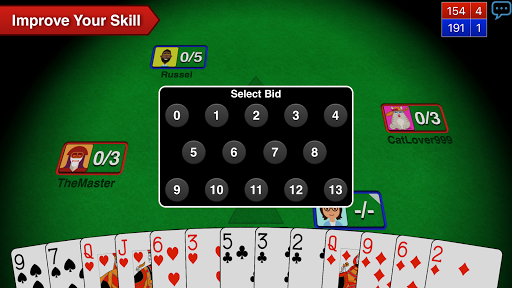 Spades   3 تصوير الشاشة