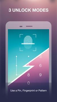 App Locker Fingerprint & Password, Gallery Locker screenshot 3