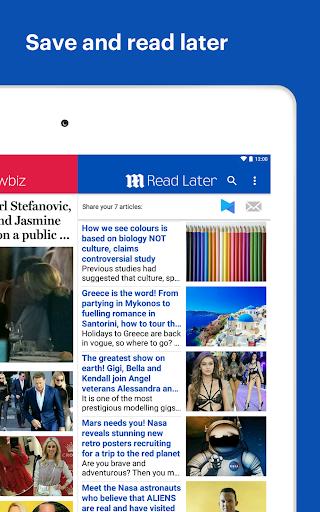 Daily Mail Online 9 تصوير الشاشة
