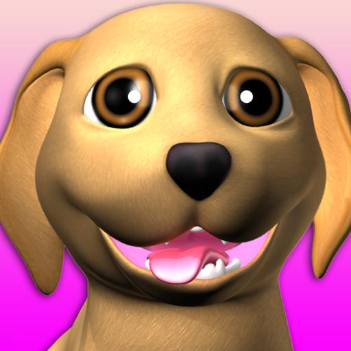 甘い話す子犬:おかしい犬 - Pet Games Free icon