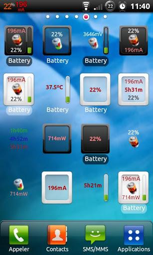 3C Battery Manager 1 تصوير الشاشة