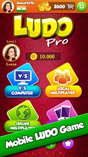 Ludo Pro : King of Ludo's Star Classic Online Game 3 تصوير الشاشة