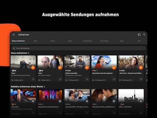 Zattoo - TV Streaming App screenshot 12