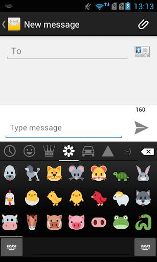 Emoji Keyboard - Color Emoji 6 تصوير الشاشة