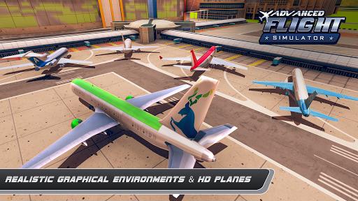 Airplane Real Flight Simulator 2020 : Plane Games screenshot 5