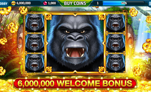 Ape About Slots NEW Vegas Casino Slot Machine Free 1 تصوير الشاشة
