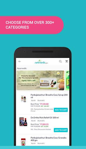 Netmeds - India's Trusted Online Pharmacy App 2 تصوير الشاشة