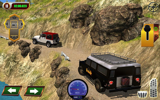Offroad Jeep mountain climb 3d screenshot 1