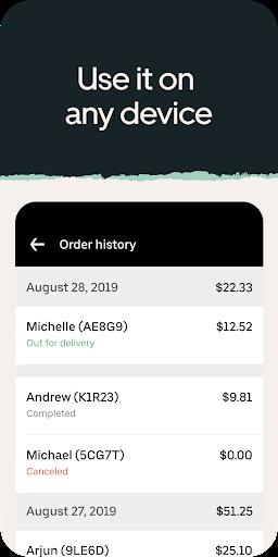 Uber Eats для ресторанов скриншот 4