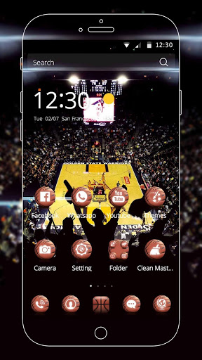Basketball Theme screenshot 3