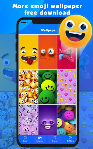 New Emoji 2020 - Wallpaper&GIF&Sticker for FREE 4 تصوير الشاشة