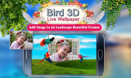 Birds 3D Live Wallpaper 5 تصوير الشاشة