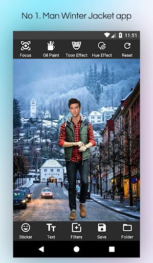 Men Winter Jacket Suit screenshot 3