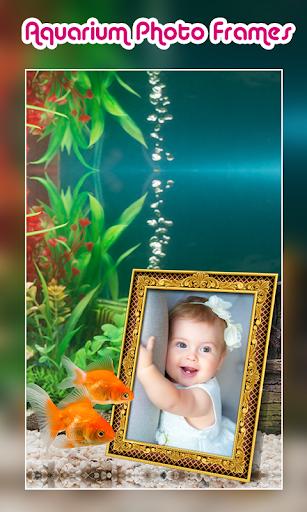 Aquarium Photo Frames 4 تصوير الشاشة