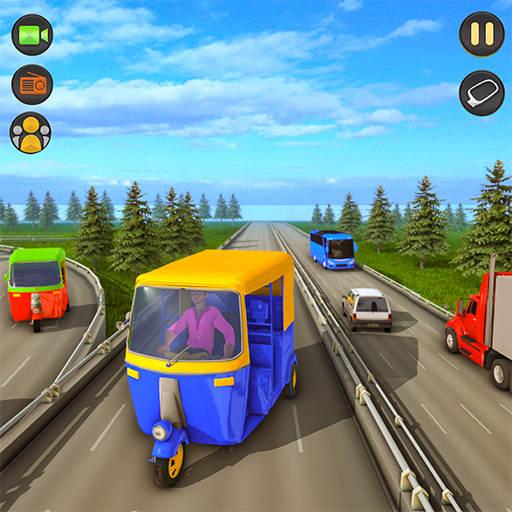 Tuk Tuk Rickshaw: Free Driving Games