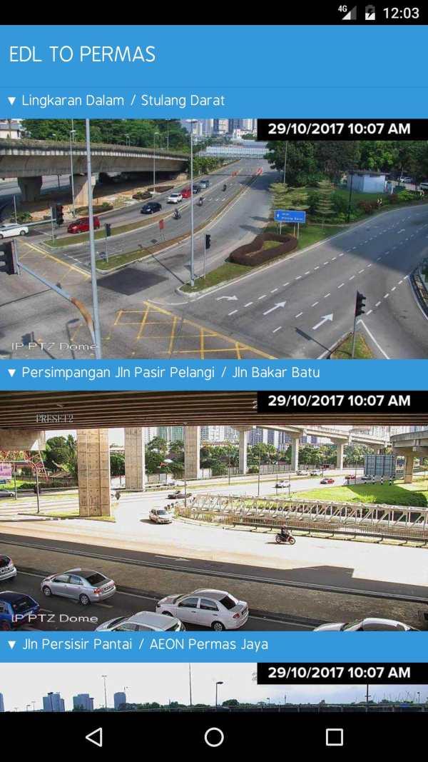 MBJB.LIVE - Live Traffic Cameras in Johor Bahru. screenshot 5