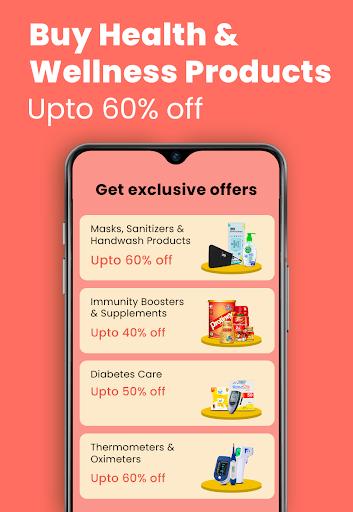 1mg - Online Medical Store & Healthcare App screenshot 2
