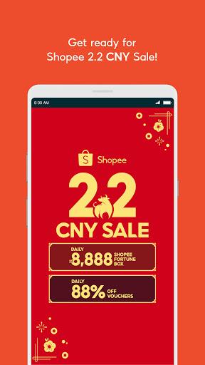Shopee 2.2 CNY Sale скриншот 2