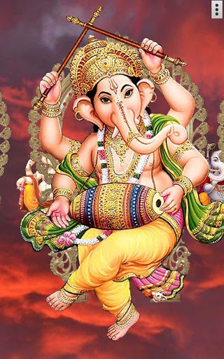 4D Ganesh Live Wallpaper скриншот 2