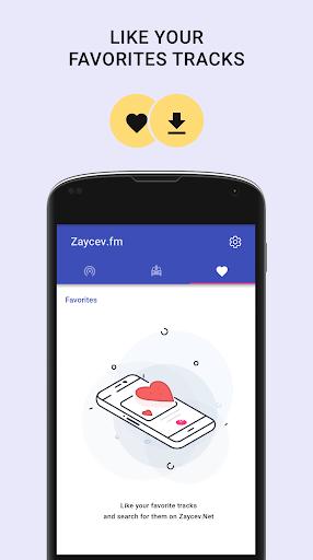 Online radio - Zaycev.fm. Listen radio offline 4 تصوير الشاشة