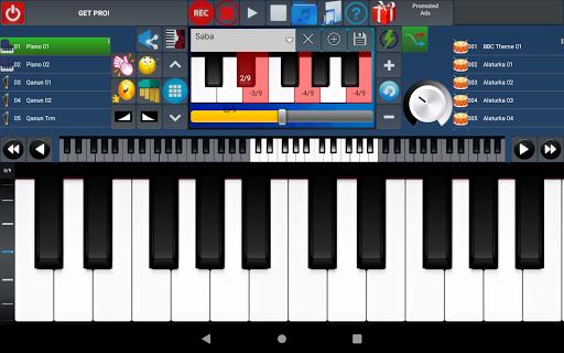 Portable ORG Keyboard 10 تصوير الشاشة