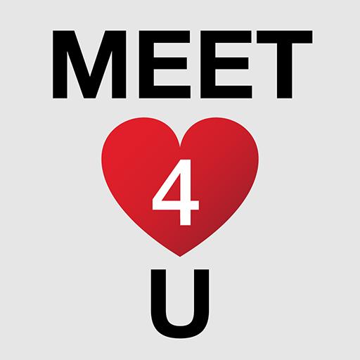 Meet4U - Chat, Love, Singles! أيقونة