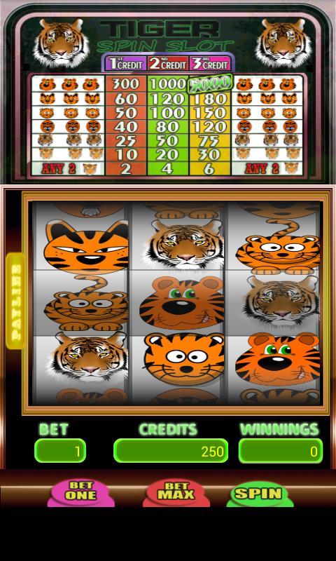 Tiger Spin Slot 2 تصوير الشاشة