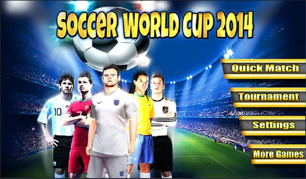 Soccer World Cup 2014 screenshot 10
