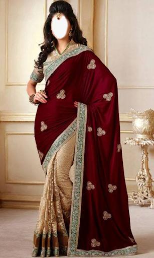 Indian Woman  Designer Saree 3 تصوير الشاشة