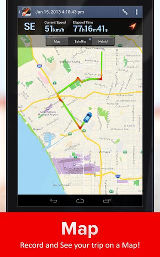 Speed Tracker. GPS Speedometer and Trip Computer screenshot 8