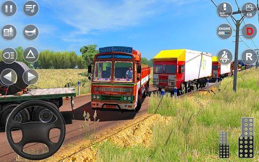 Indian Truck Spooky Stunt : Cargo Truck Driver screenshot 5