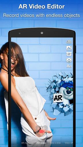 Snaappy - AR Social Network screenshot 1