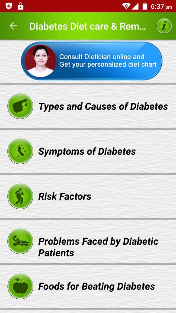 Diabetes Diet Causes & Remedy screenshot 1