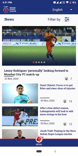 Indian Super League - Official App screenshot 4