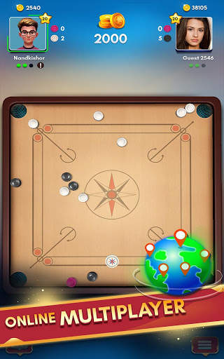 Carrom King™ - Best Online Carrom Board Pool Game screenshot 19