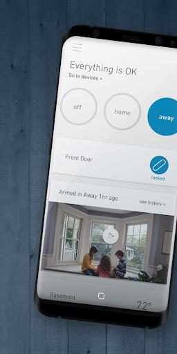 SimpliSafe Home Security App screenshot 1