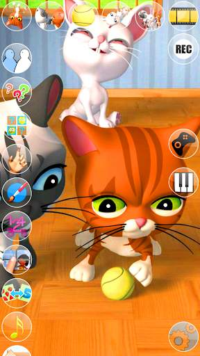 Talking 3 Friends Cats & Bunny screenshot 6
