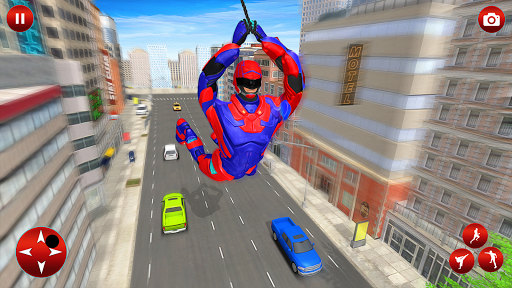 Superhero Robot Speed: Super Hero Game screenshot 3