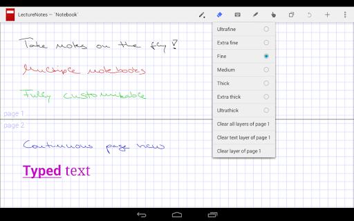LectureNotes (Trial Version) screenshot 3