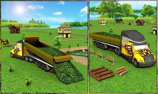 Farm Truck : Silage Game screenshot 4