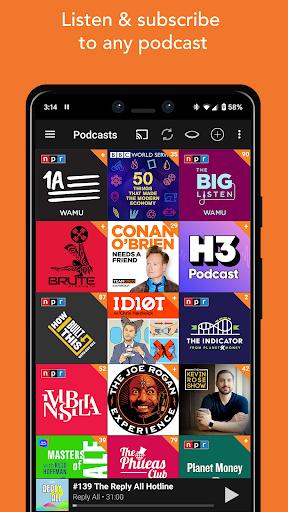 Podcast Addict 3 تصوير الشاشة