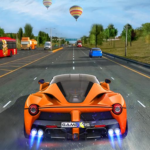 nova estrada de corrida: jogos de carros 2020 icon