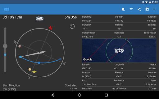 ISS Detector كاشف محطة الفضاء الدولية 9 تصوير الشاشة