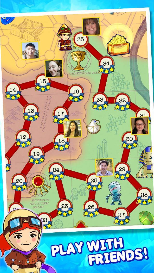 Jewel Raiders for TANGO 4 تصوير الشاشة