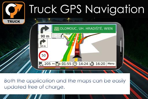 Truck GPS Navigation 14 تصوير الشاشة